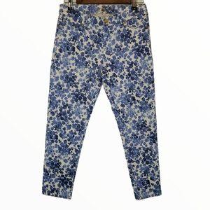 Michael Kors Rose Printed Jeans